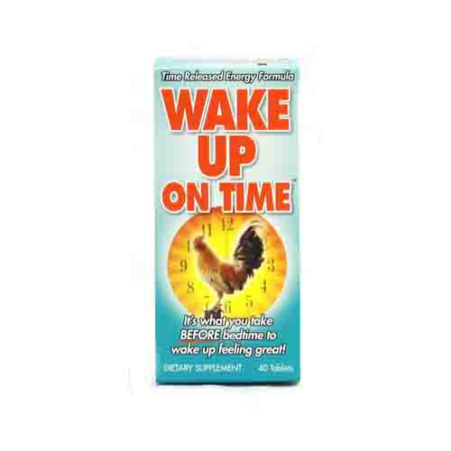 Wake Up On Time Energy Supplement