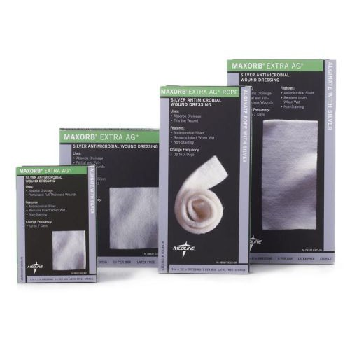 Medline Maxorb Extra Ag Silver Antimicrobial Wound