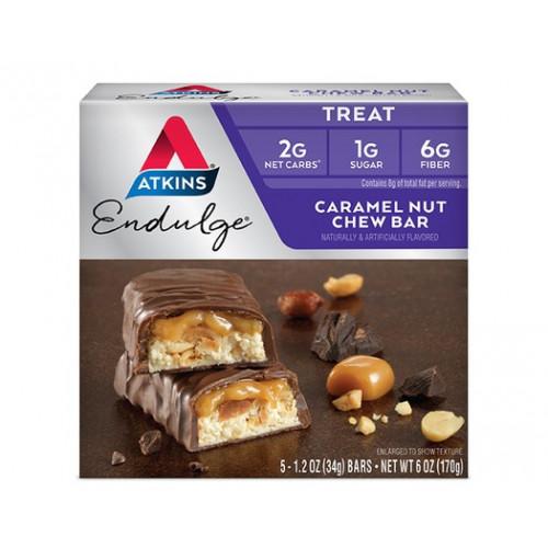Caramel Nut Chew Bar