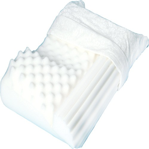 No Snore Pillow by Hermell, NC3910, HRMNC3910