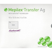 Molnlycke Mepilex Transfer Ag Soft Silicone Antimicrobial Dressings