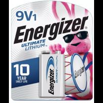 9V Energizer Ultimate Lithium Battery - L522