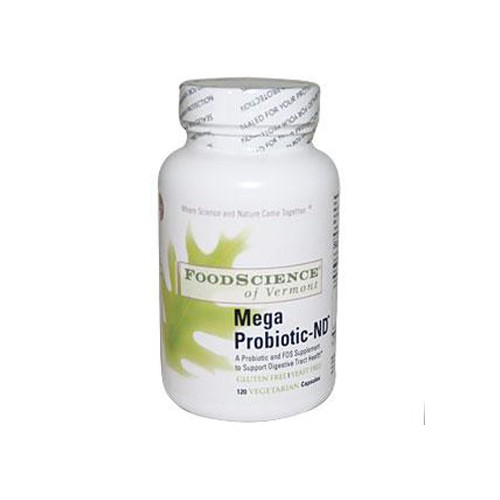 FoodScience of Vermont Mega Probiotic ND Dietary Supplement