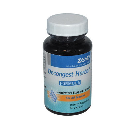 Zand Decongest Herbal Formula