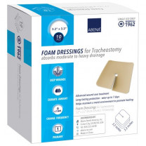Abena Adhesive Border Foam Dressing