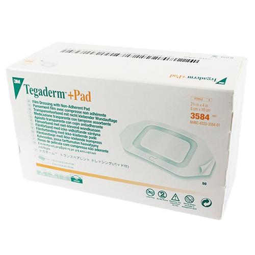 3M Tegaderm +Pad Transparent Dressing Box