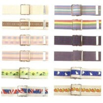 Posey Gait Belt Transfer Belts in Assorted Patterns