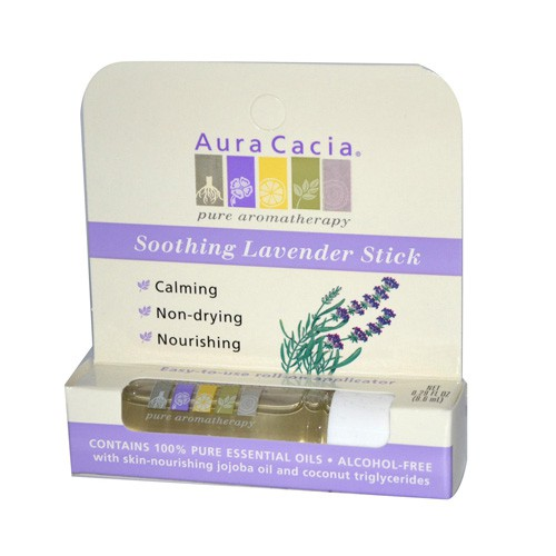 Aura Cacia Essential Oil Lavender Soothing Stick Aromatherapy