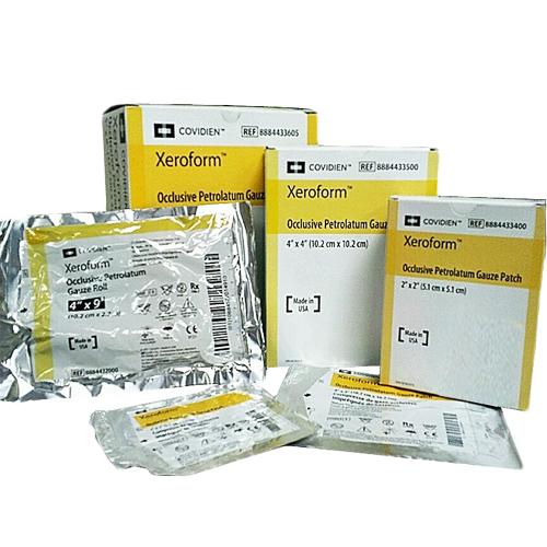 Xeroform Gauze Petrolatum Dressings   Covidien 8884431605 ...