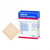 Cutimed Sorbion Sachet Border Dressing 7323600 | 7.5 x 7.5 cm | 4 x 4 Inch by BSN