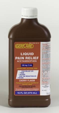 Children S Liquid Acetaminophen 160 Mg 16 Oz Buy