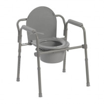 Folding Steel Commode Chair - 11148-4