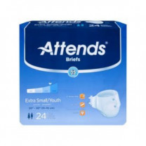 Attends Advanced DermaDry Technology Brief Heavy Absorbency