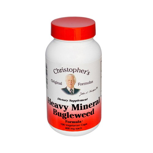 Dr Christophers Formulas Heavy Mineral Bugleweed Formula 400 mg Dietary Supplement