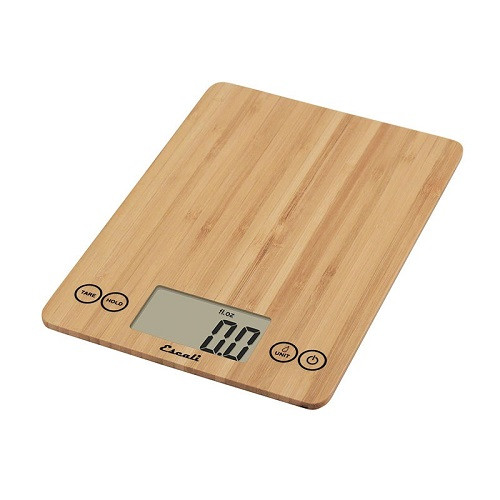 Escali Arti Bamboo Kitchen Scale