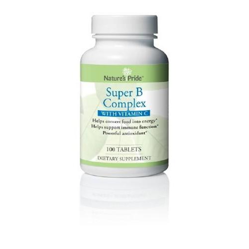 Natures Pride Vitamin B Complex with Vitamin C