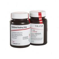 Cardinal Health Iodoform Gauze 1/4 in x 5 yd  Packing Strips - CPG145I