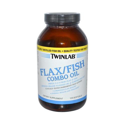Twinlab Flax Fish Combo Oil