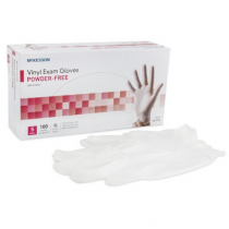Clear Vinyl Exam Gloves