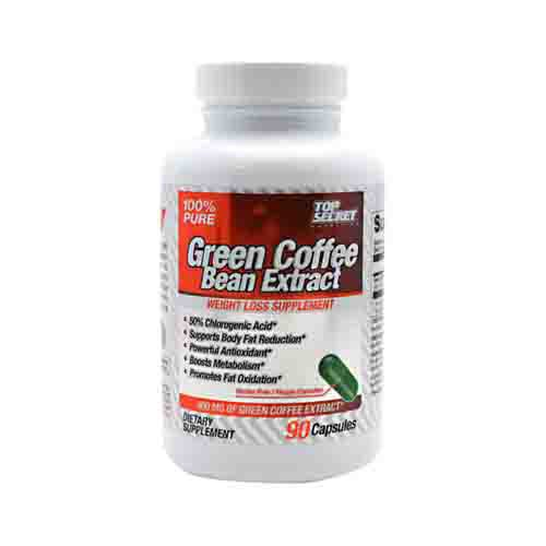 Green Coffee Bean Extract by Top Secret Nutrition