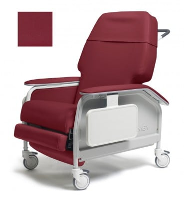 lumex extra wide clinical care geri chair recliner 313