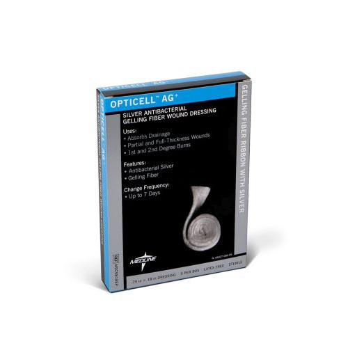 Opticell AG Silver Antibacterial Gelling Fiber Wound Dressing