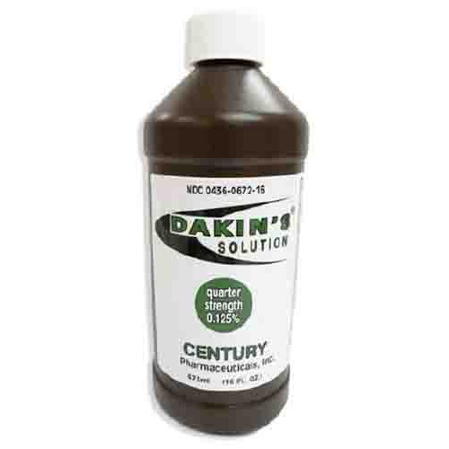 Dakins Antiseptic First Aid Solution