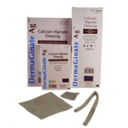 DermaGinate Ag Calcium Alginate Iconic Silver Dressing