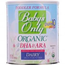 Babys Only Organic Toddler Formula - Dairy - DHA and ARA