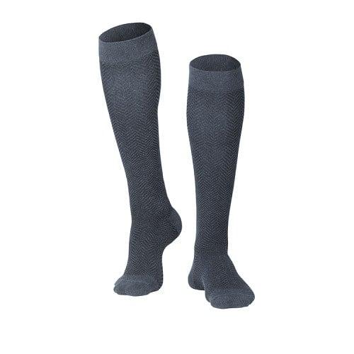 mens herringbone compression socks 15 20 mmhg 880