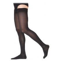Sigvaris 230 Cotton Series Men's Thigh High Compression Stockings - 233N CLOSED TOE 30-40 mmHg