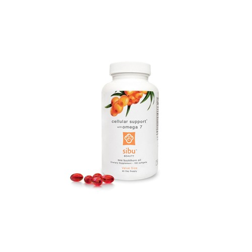Sibu International Sea Buckthorn Oil Cellular Support with Omega 7