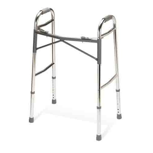 Youth Heavy-Duty Two Button Folding Walker