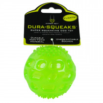 Dura Squeaks Ball Dog Toy