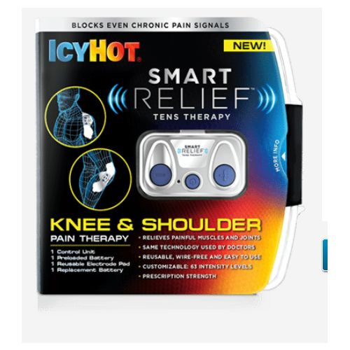 Icy Hot Smart Relief Knee and Shoulder TENS Therapy Starter Kit