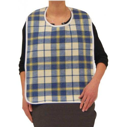 Adult Bib Flannel Cloth