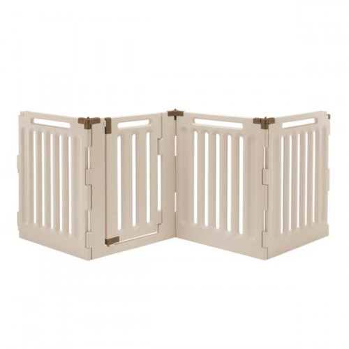 Richell Convertible Indoor Outdoor Pet Playpen