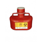 4.7 Quart Red Sharps Container 184
