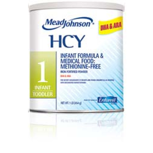 HCY 1 Infant to Toddler Medical Food for Homocystinuria