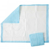 Medline Ultra Breathable Protection Plus Underpads, Polymer Super Absorbency Pad