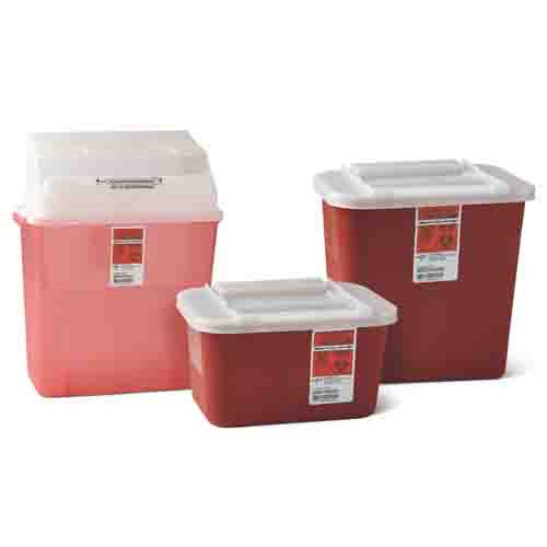 Multipurpose Sharps Containers by Medline
