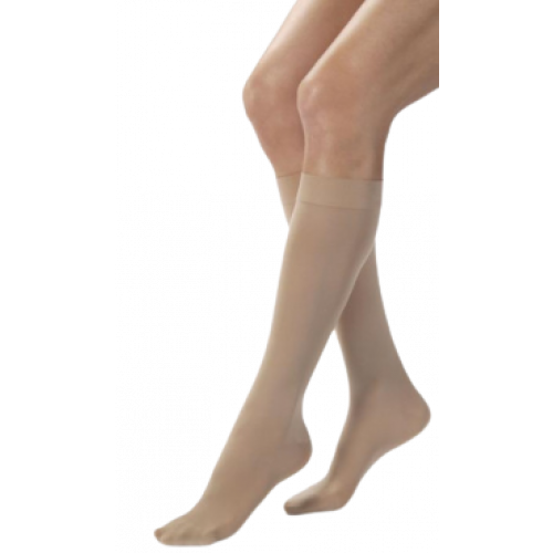 Jobst Opaque Knee High Compression Socks CLOSED TOE 20-30 mmHg