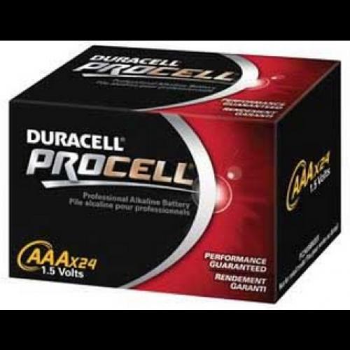 AAA Procell Alkaline Battery Box of 24
