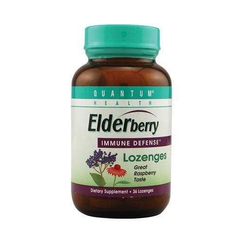 Quantum Elderberry Lozenges Raspberry