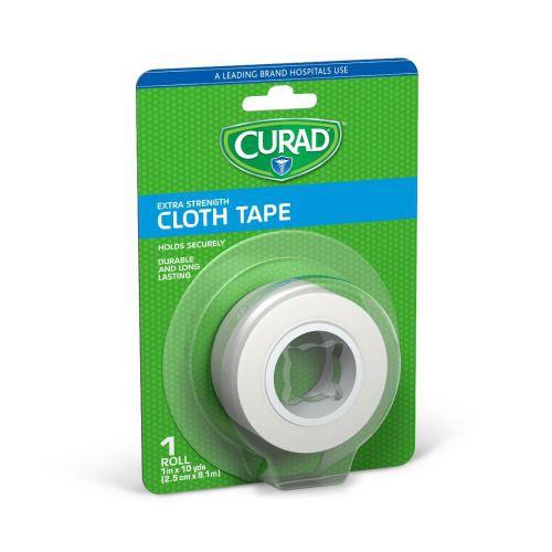 """Extra Strength CURAD Cloth Tape, 1"""" x 10 yrds"""