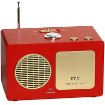 SMPL One-Touch Radio & Music Player