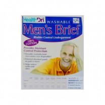 HealthDri Mens Brief Moderate Absorbency