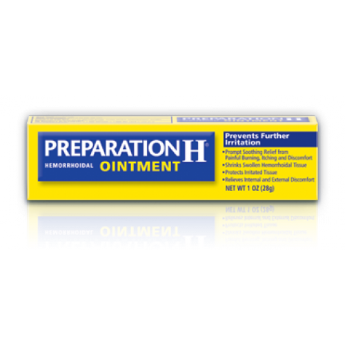 Preparation H Hemorrhoid Ointment