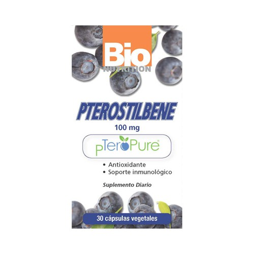 Bio Nutrition Pterostilbene Vegetarian Capsule Dietary Supplement