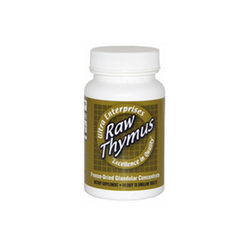 Ultra Raw Thymus 200Mg Glandulars